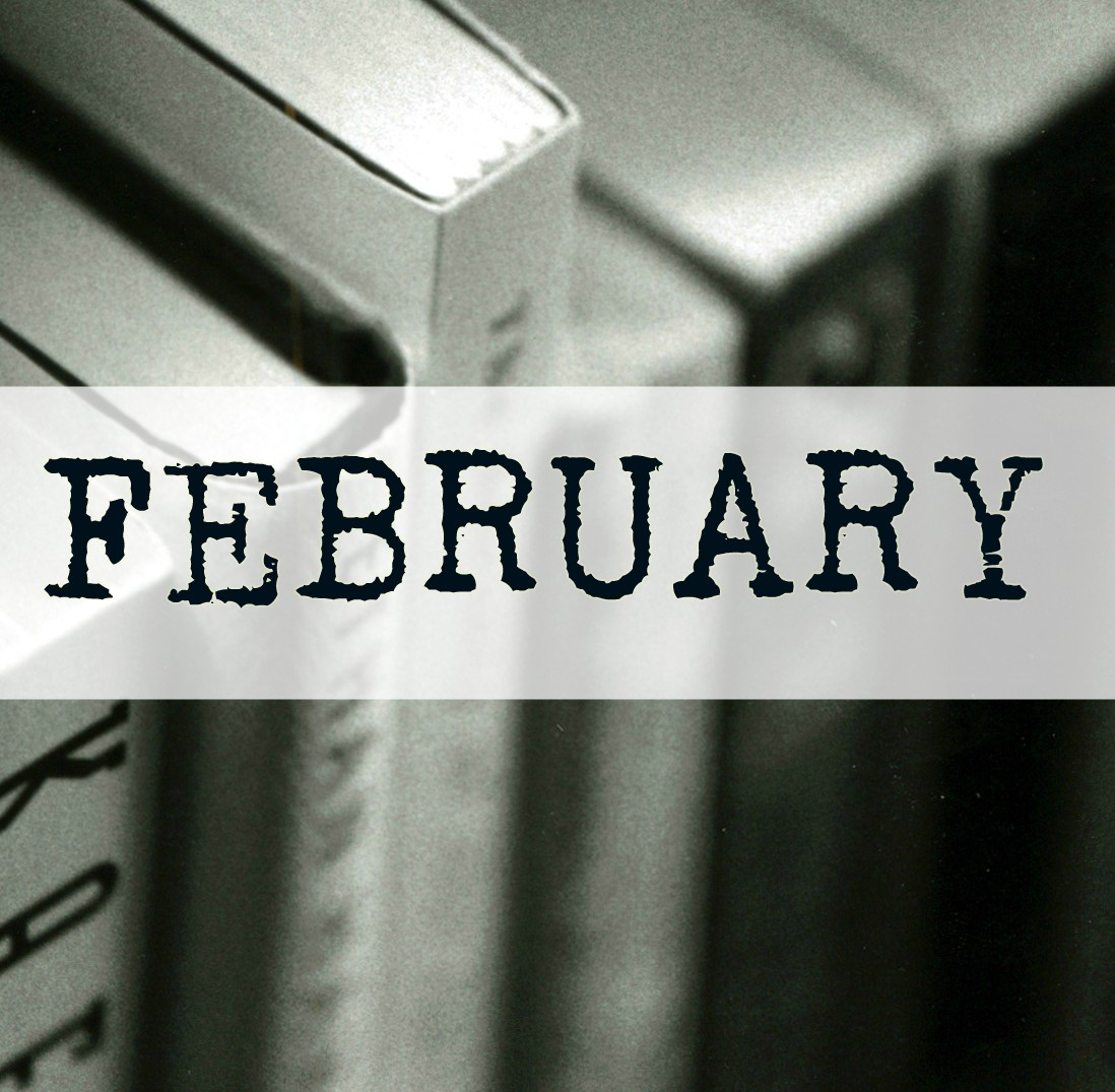 February Wrap Up (Look at All the Books I've Read!)