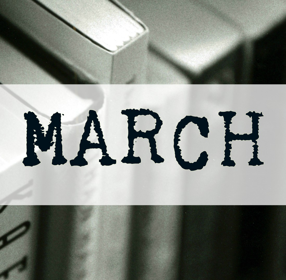 Looking forward on March (There's so many good books in my future)