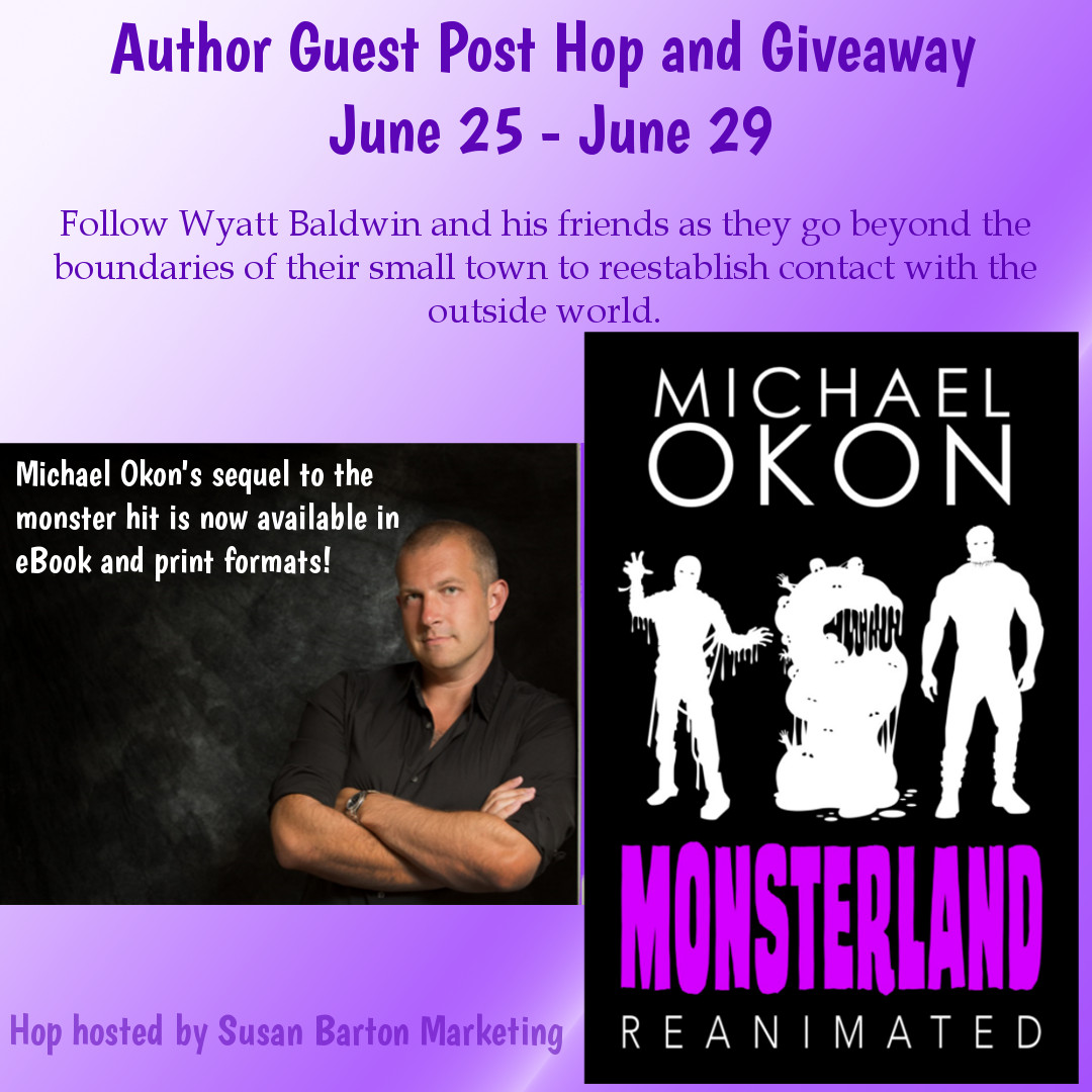 Guest Post: The Typical Writing Day, By Michael Okon // Part of his new booktour!