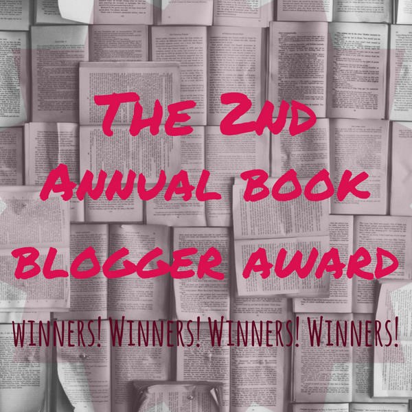Book Blogger Awards 2018 WINNERS!